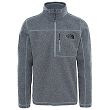 Buy The North Face Gordon Lyons 1/4 Zip Men's Fleece, Medium Grey Online at johnlewis.com