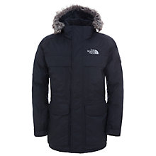 Buy The North Face Men's McMurdo Parka Jacket, Black Online at johnlewis.com