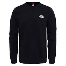 Buy The North Face Street Fleece Sweatshirt, Black Online at johnlewis.com