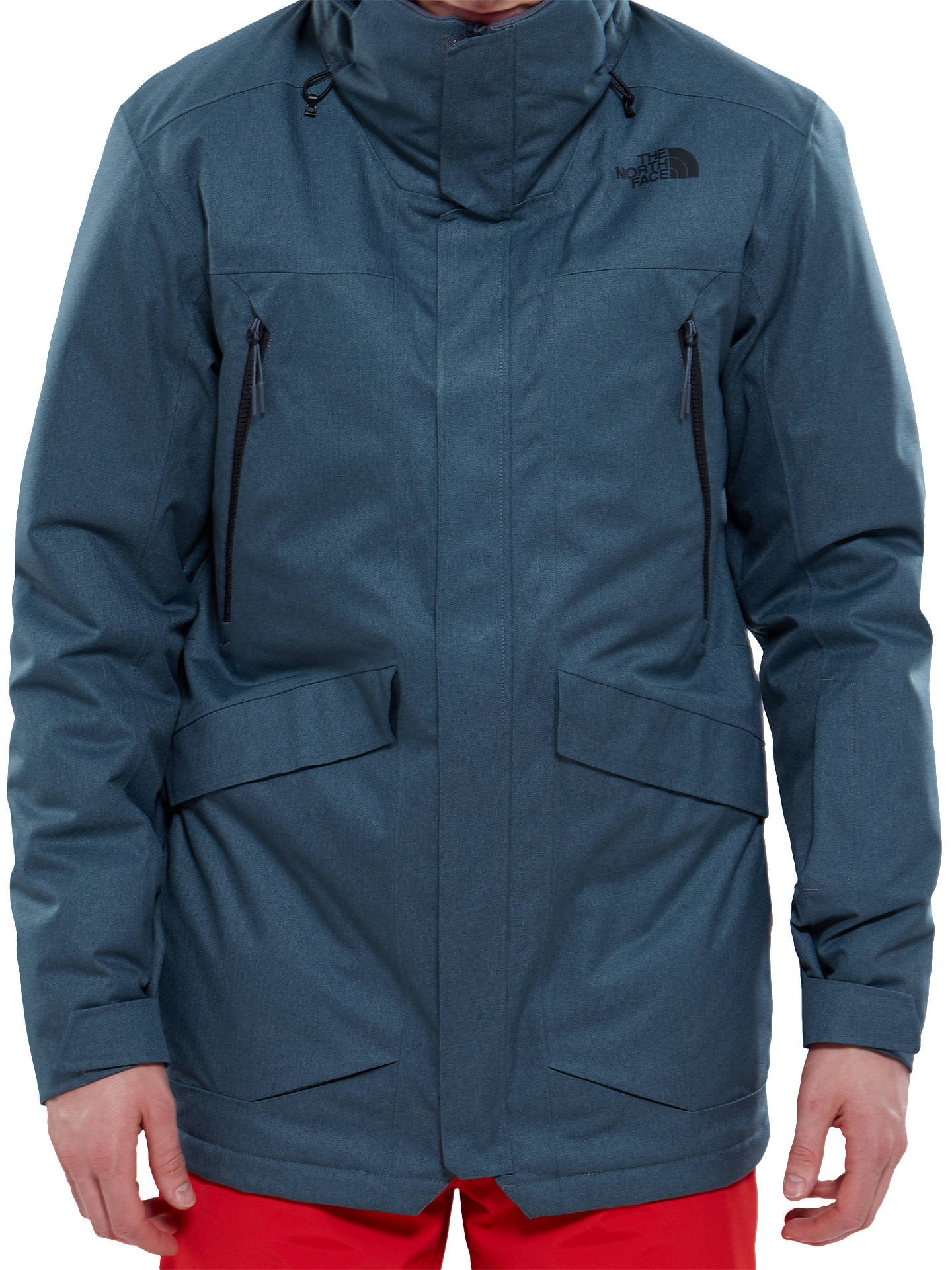 405dd3770 The North Face Gatekeeper Men's Waterproof Insulated Jacket, Grey at ...