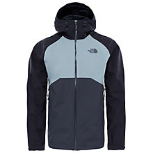 Buy The North Face Stratos Men's Jacket, Asphalt Online at johnlewis.com