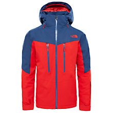 Buy The North Face Chakal Waterproof Men's Ski Jacket, Blue/Red Online at johnlewis.com
