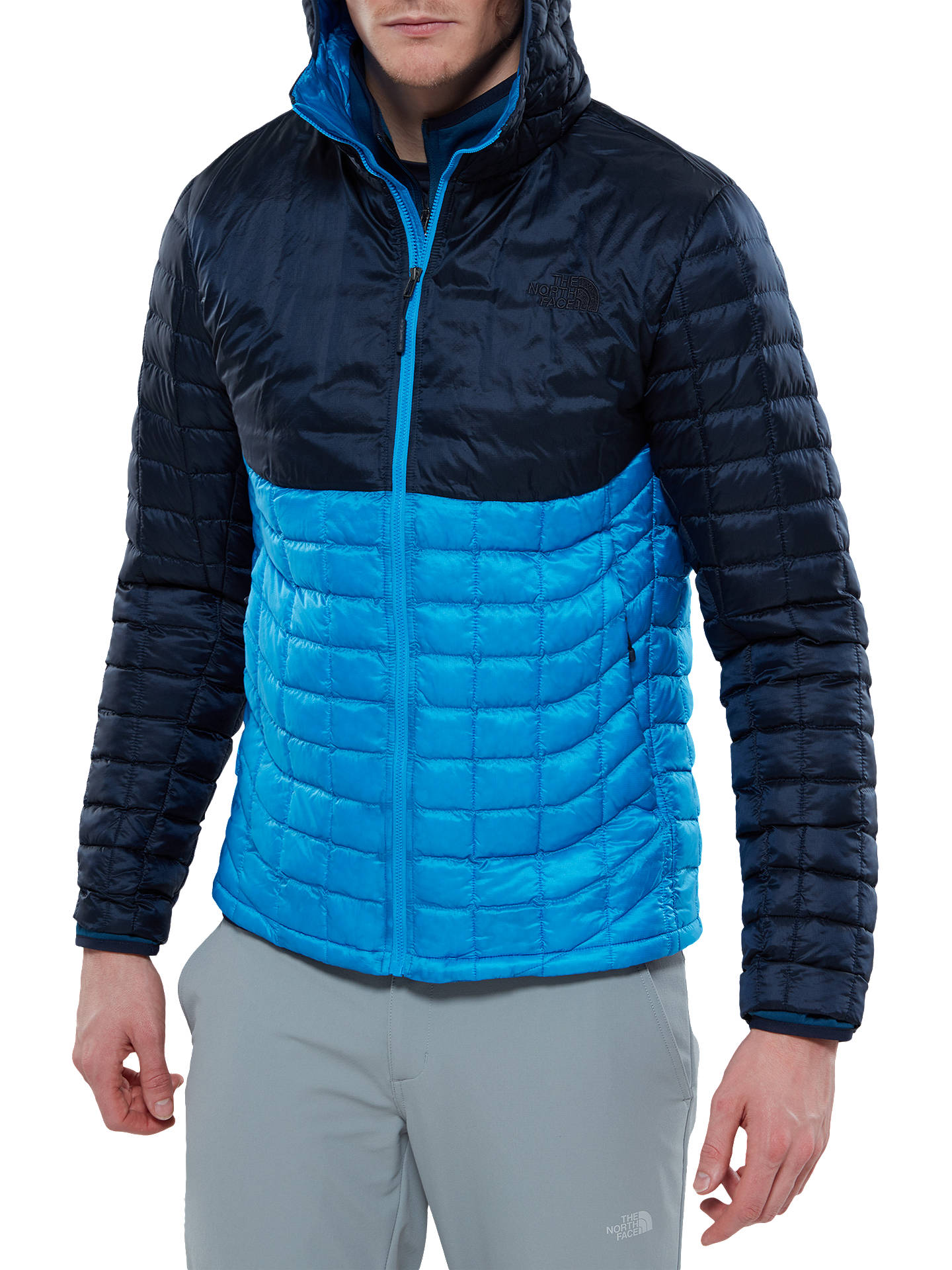 b5b767d718b9 The North Face Thermoball Hooded Insulated Men s Jacket at John ...