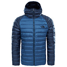 Buy The North Face Men's Trevail Hooded Jacket, Blue Online at johnlewis.com