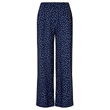 Buy John Lewis Children's Spot Trousers, Navy Online at johnlewis.com