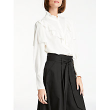 Buy Somerset by Alice Temperley Frill Blouse Online at johnlewis.com