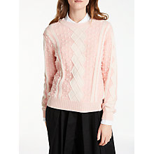 Buy Somerset by Alice Temperley Cable Bobble Jumper Online at johnlewis.com