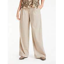 Buy Modern Rarity Flannel Wide Leg Trousers Online at johnlewis.com