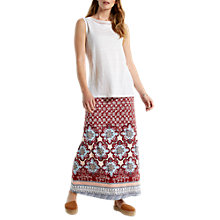 Buy White Stuff Sundance Maxi Skirt, Rosewood Red Online at johnlewis.com