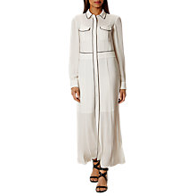 Buy Karen Millen Soft Piped Shirt Dress Online at johnlewis.com