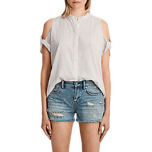 Buy AllSaints Elsa Cotton Shirt Online at johnlewis.com