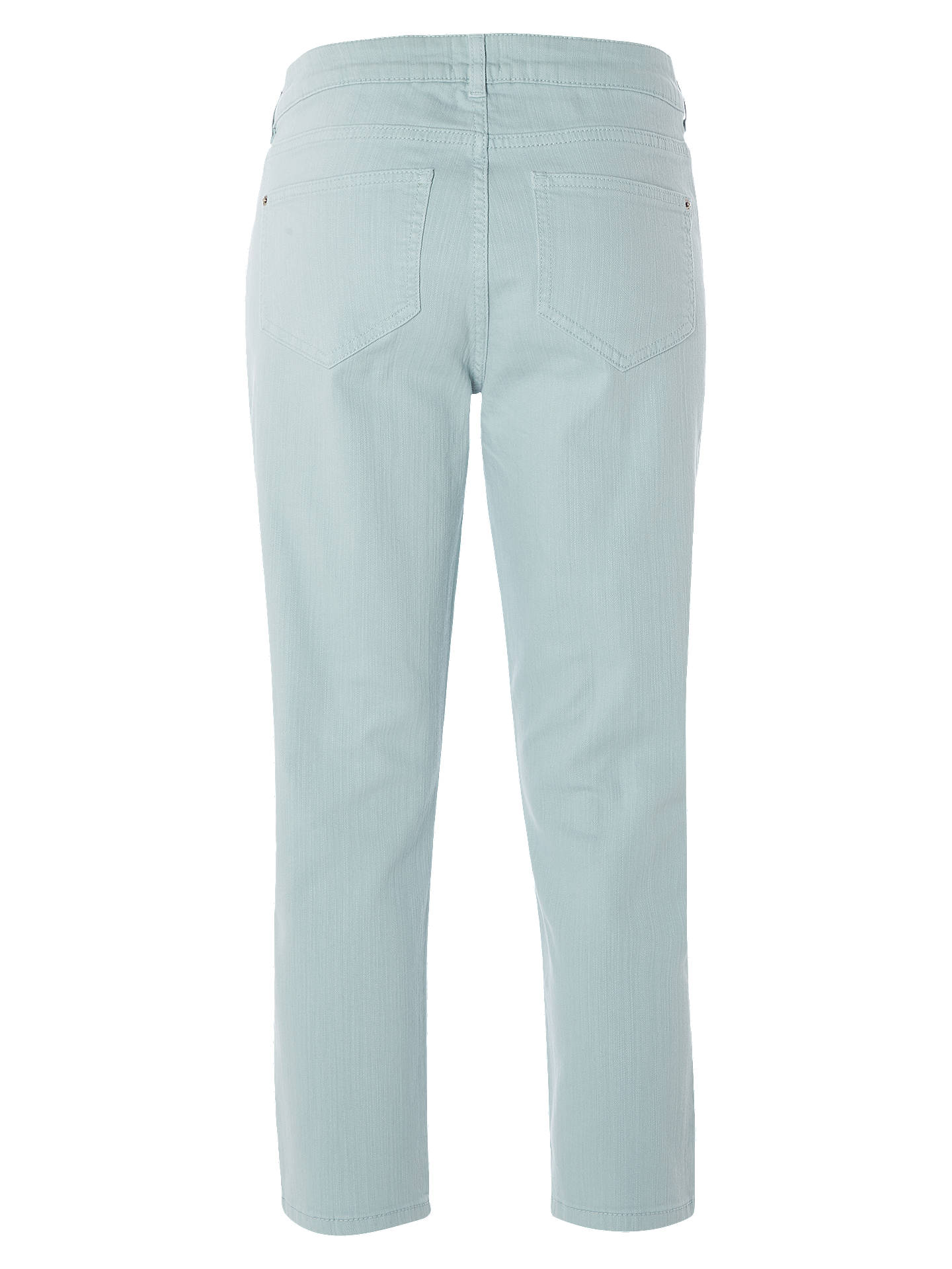 BuyWhite Stuff Sally Straight Crop Jeans, Mint, 6 Online at johnlewis.com