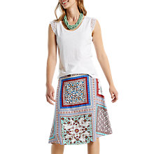 Buy White Stuff Tranquil Reversible Skirt, Multi Online at johnlewis.com