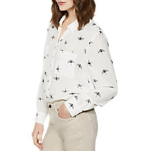 Buy Mint Velvet Imogen Printed Shirt, Multi Online at johnlewis.com
