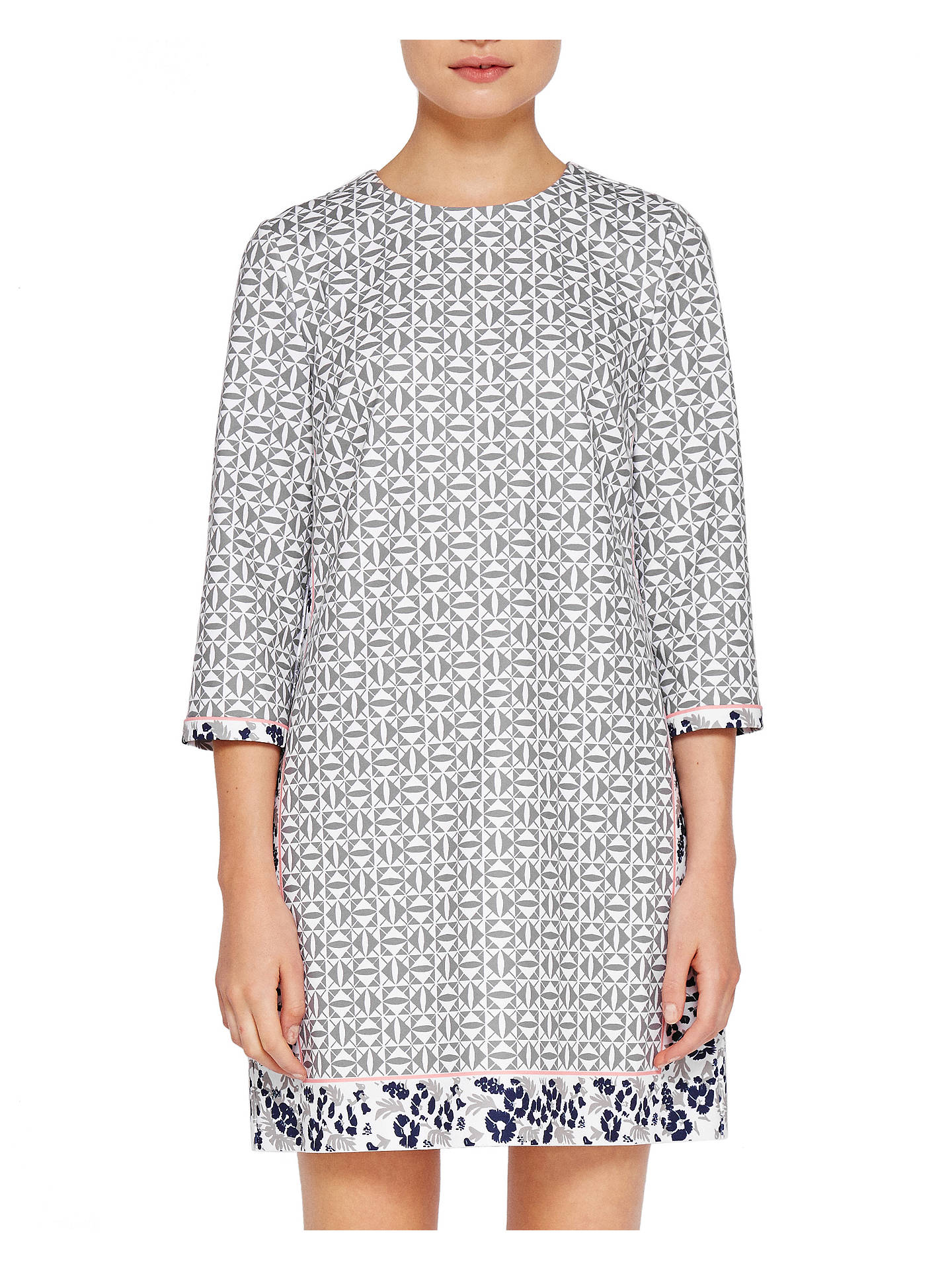 7b0b8cd81 Buy Ted Baker Colour By Numbers Lealla Geo Floral Print Shift Dress