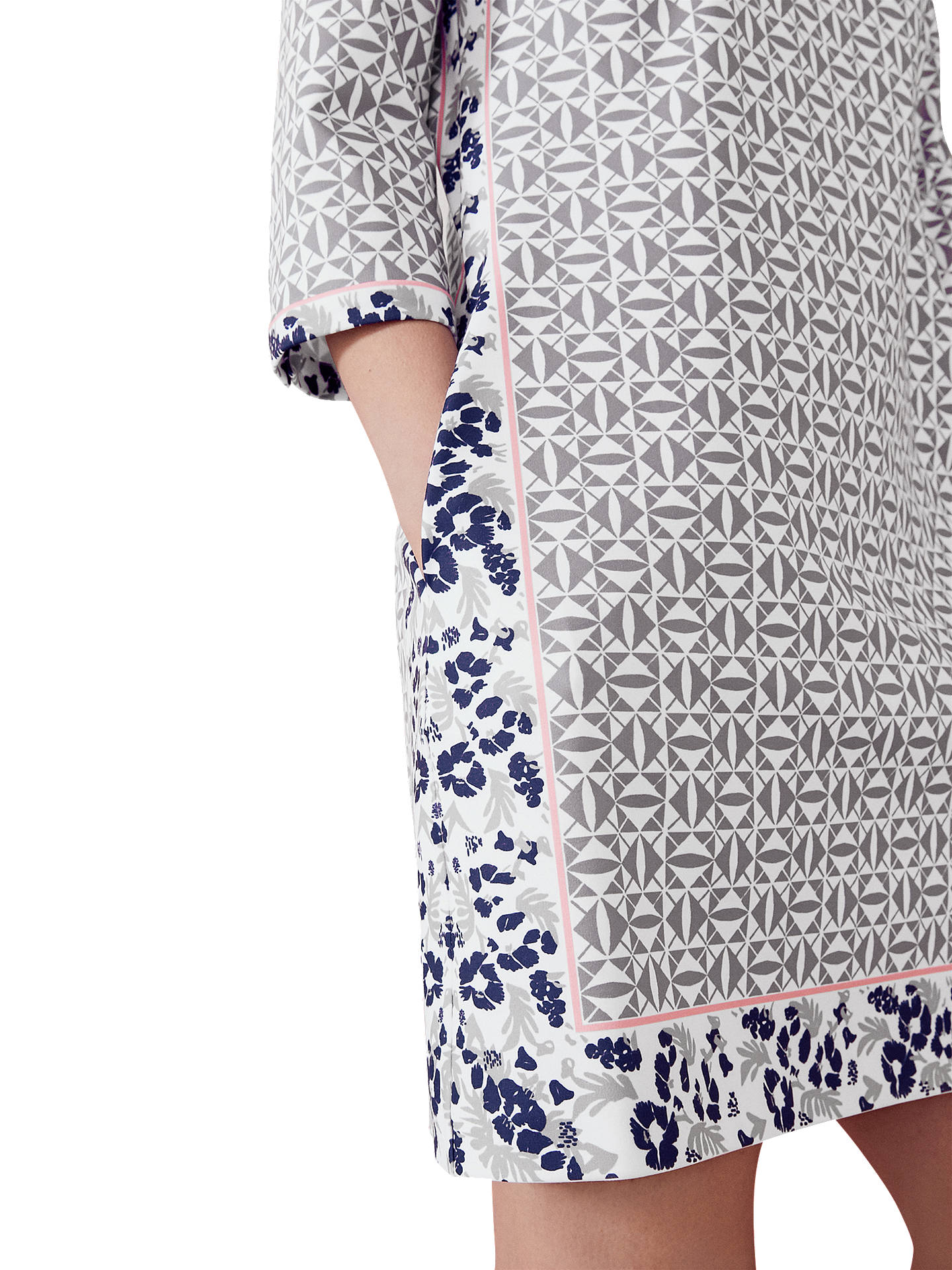 18cbdf46f ... Buy Ted Baker Colour By Numbers Lealla Geo Floral Print Shift Dress