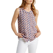 Buy White Stuff Pinto Vest Shirt, Apricot Online at johnlewis.com