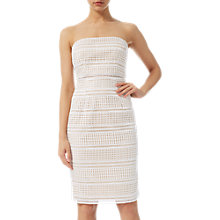 Buy Adrianna Papell Eyelet Lace Dress, Ivory Online at johnlewis.com