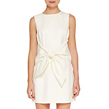 Buy Ted Baker Colour By Numbers Papron Dress, Ivory Online at johnlewis.com