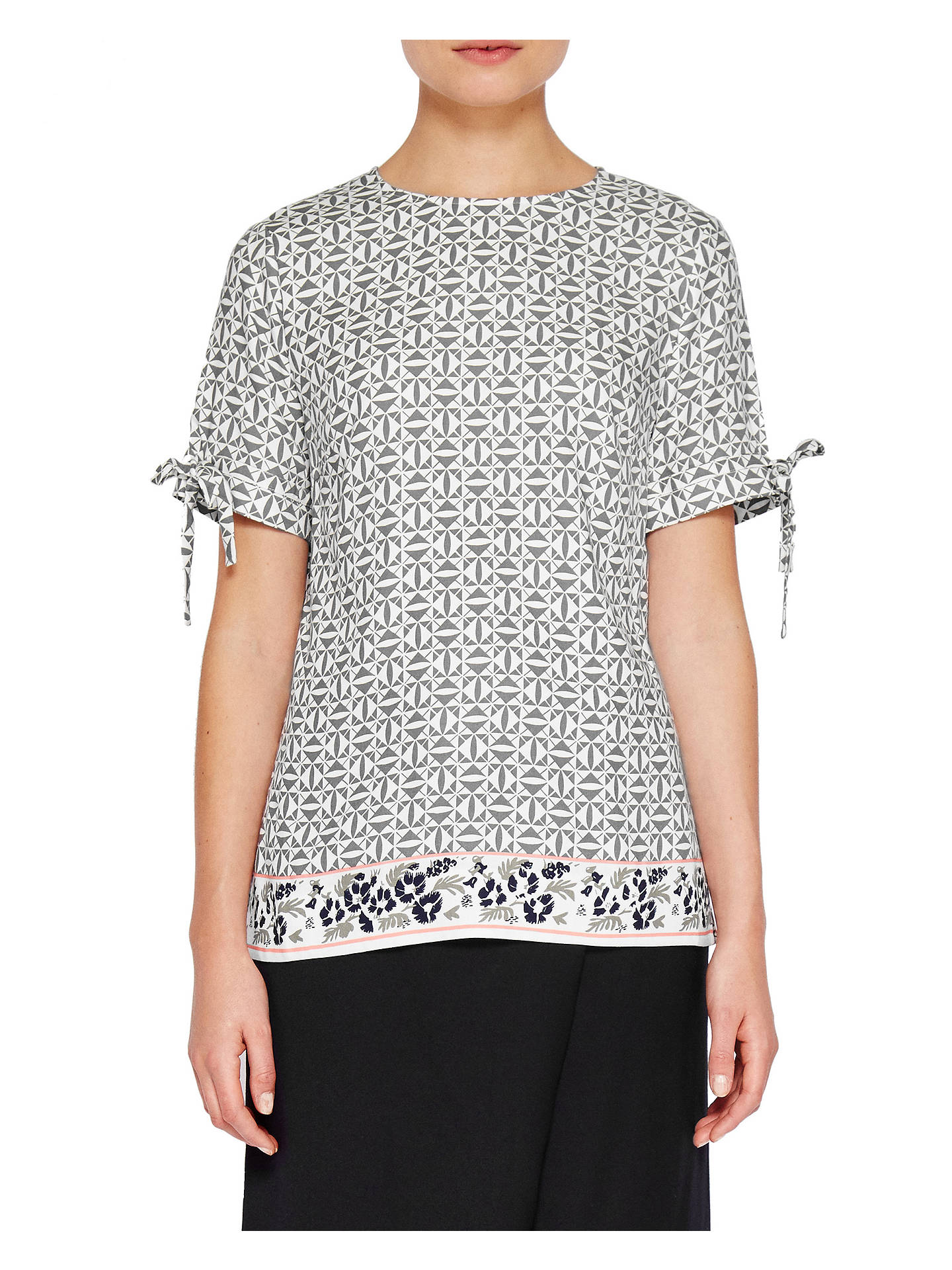 8a3dcbeeaeeb61 BuyTed Baker Colour By Numbers Laylei Geo Floral Print T-Shirt