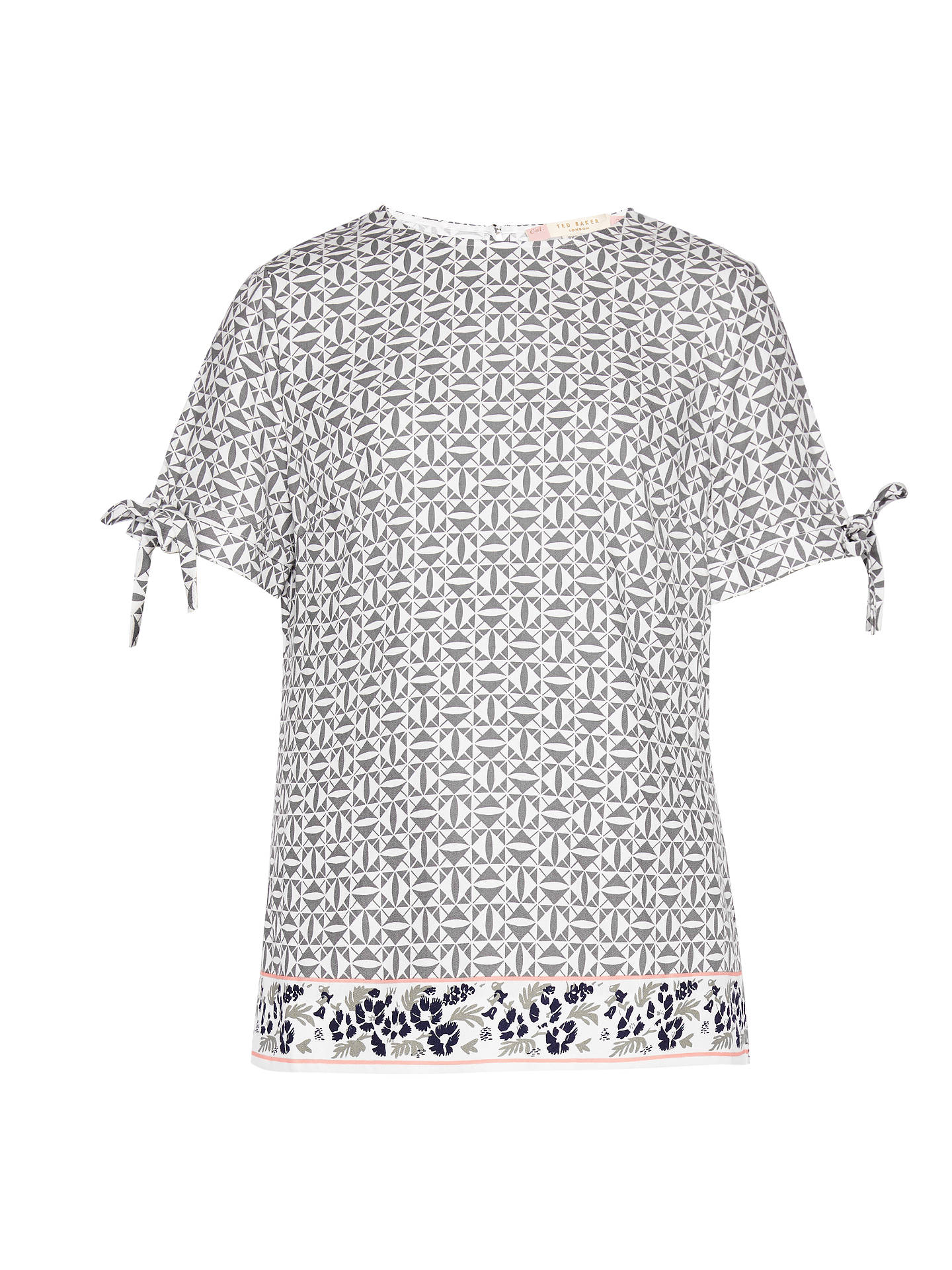 3dc79719de3159 ... BuyTed Baker Colour By Numbers Laylei Geo Floral Print T-Shirt