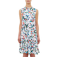 Buy Ted Baker Colour By Numbers Bias Cut Drop Waist Dress, Ivory Online at johnlewis.com