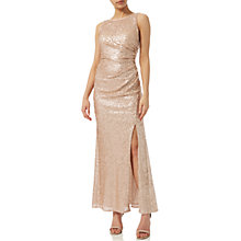 Buy Adrianna Papell Sequin Pailette Gown Online at johnlewis.com