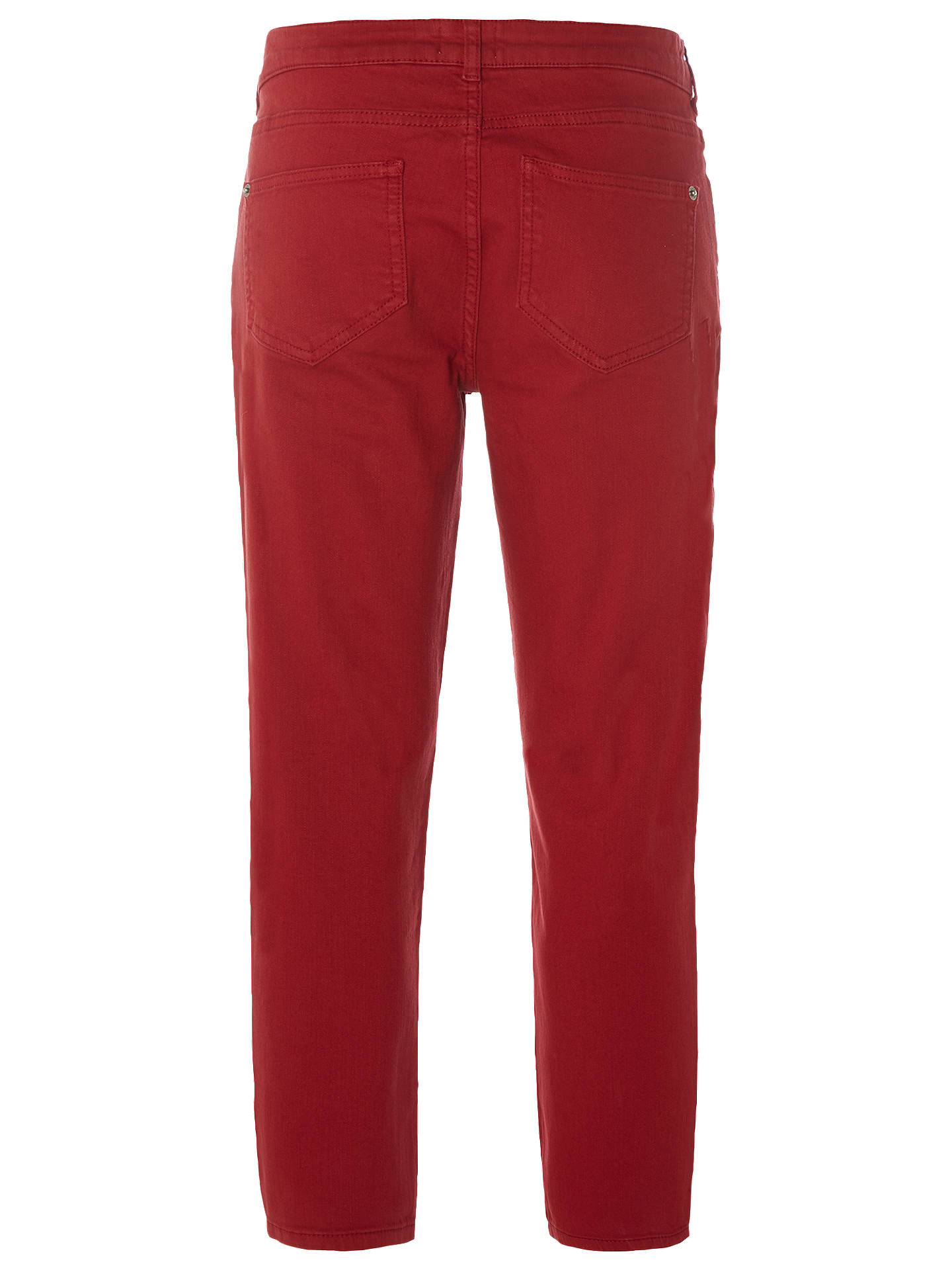 BuyWhite Stuff Sally Straight Crop Jeans, Rust, 6 Online at johnlewis.com