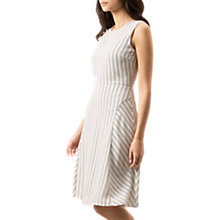 Buy Hobbs Belle Dress, Ivory/Navy Online at johnlewis.com