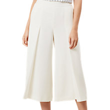 Buy Hobbs Vita Trousers, Ivory Online at johnlewis.com