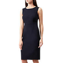 Buy Hobbs Catherine Dress, Navy Online at johnlewis.com