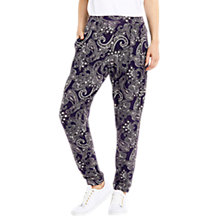 Buy Oasis Printed Trousers, Multi Online at johnlewis.com
