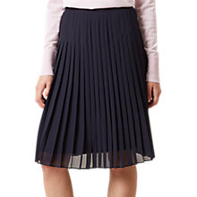 Buy Hobbs Olivia Skirt, Navy Online at johnlewis.com