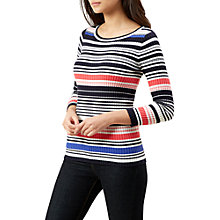 Buy Hobbs Whitstable Jumper, Ivory Multi Online at johnlewis.com