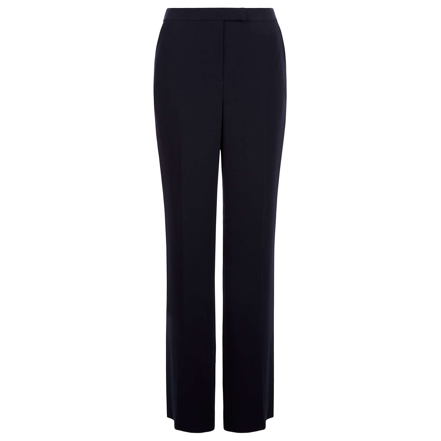 BuyHobbs Catherine Trousers, Navy, 8 Online at johnlewis.com