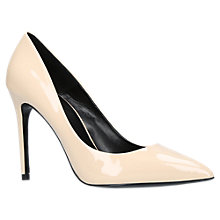 Buy Carvela Apricot Stiletto Heeled Court Shoes, Cream Online at johnlewis.com