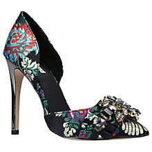 Buy Carvela Guide Two Part Embellished Court Shoes, Multi/Other Online at johnlewis.com