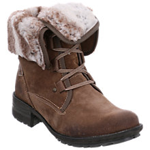 Buy Josef Seibel Sandra 04 Block Heeled Ankle Boots, Taupe Online at johnlewis.com