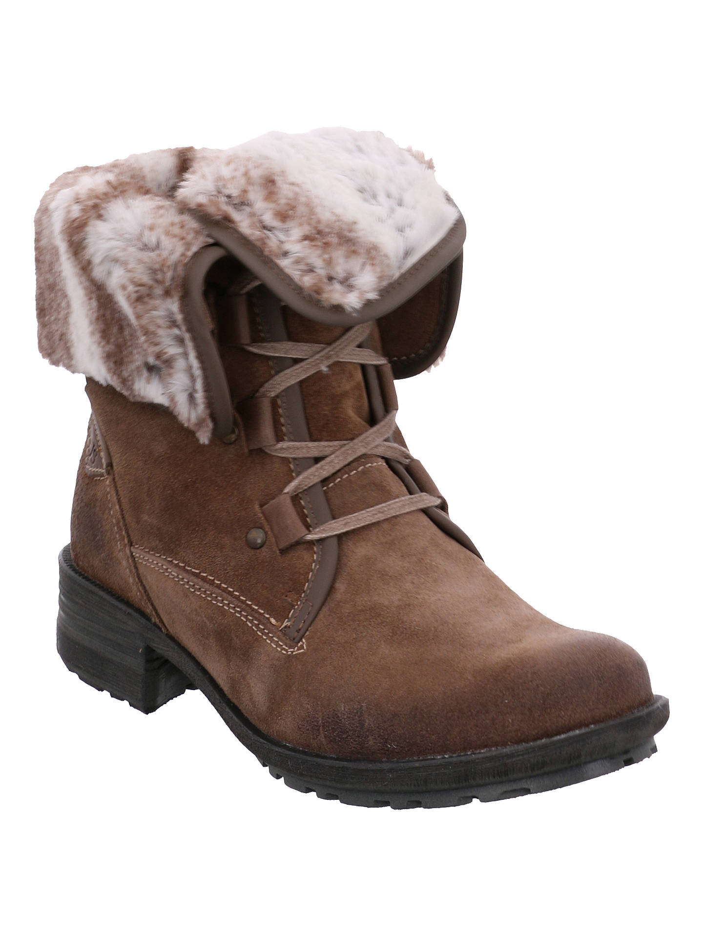 3af22f13e86e3 Buy Josef Seibel Sandra 04 Block Heeled Ankle Boots, Taupe, 3 Online at  johnlewis ...