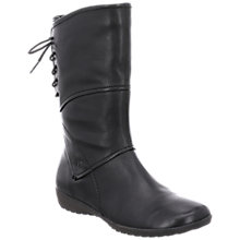 Buy Josef Seibel Naly 07 Calf Boots, Black Online at johnlewis.com
