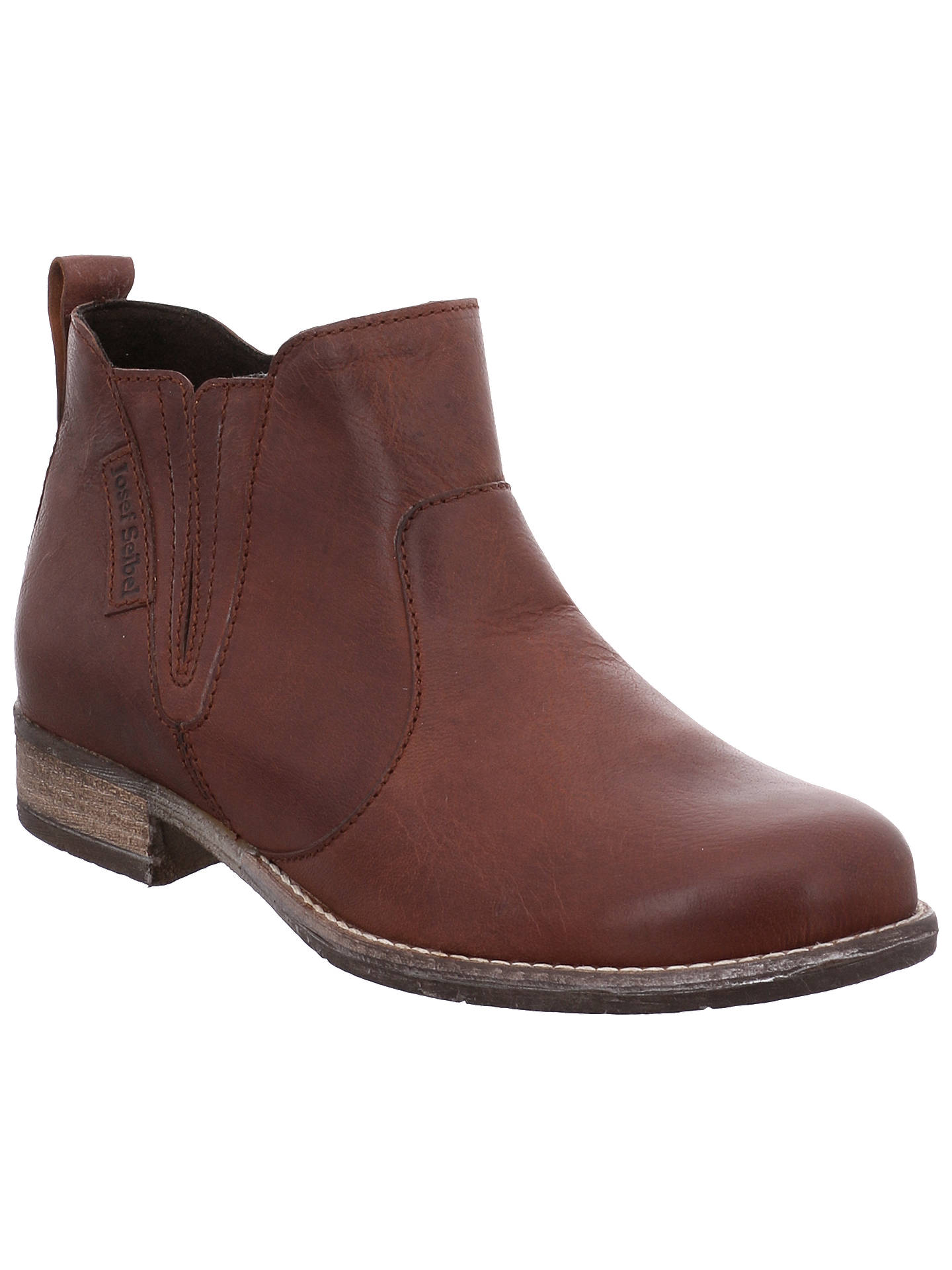 low priced c14ff d0f6a Josef Seibel Sienna 45 Ankle Boots, Camel at John Lewis ...