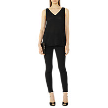 Buy Reiss Tyne Skinny Trousers, Black Online at johnlewis.com