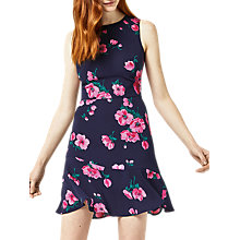 Buy Warehouse Delia Print Dress, Multi Online at johnlewis.com