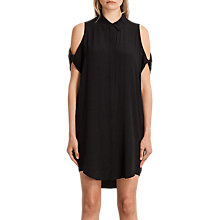 Buy AllSaints Irie Dress, Black Online at johnlewis.com
