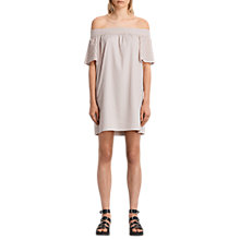 Buy AllSaints Livia Embellished Dress, Champagne Pink Online at johnlewis.com
