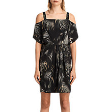 Buy AllSaints Rae Neluwa Dress, Black Online at johnlewis.com