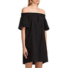 Buy AllSaints Livia Dress, Black Online at johnlewis.com