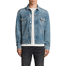Buy AllSaints Itel Denim Jacket, Indigo Online at johnlewis.com