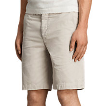 Buy AllSaints Miller Cotton Chino Shorts Online at johnlewis.com