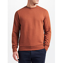 Buy JOHN LEWIS & Co. Marl Sweatshirt, Orange Online at johnlewis.com